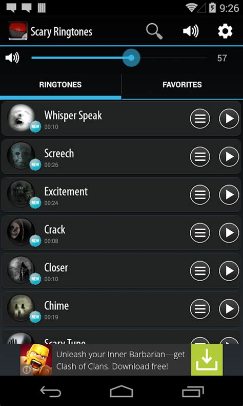 scary ringtones android apps on play