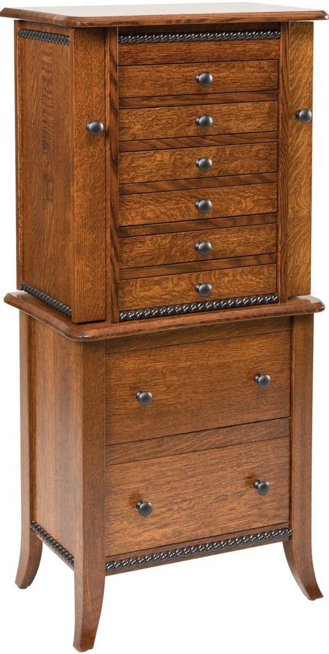 Jewelry Cabinets Furniture by Bedroom Jewelry Armoires Brandenberry Amish Furniture
