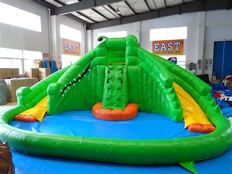 Banzai Big Curve Inflatable Water Park,large Inflatables