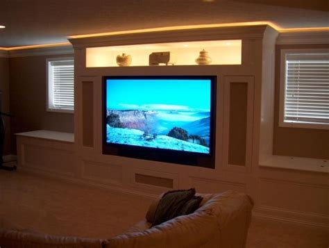 Custom backlight crown molding   Accurate Home Inspections