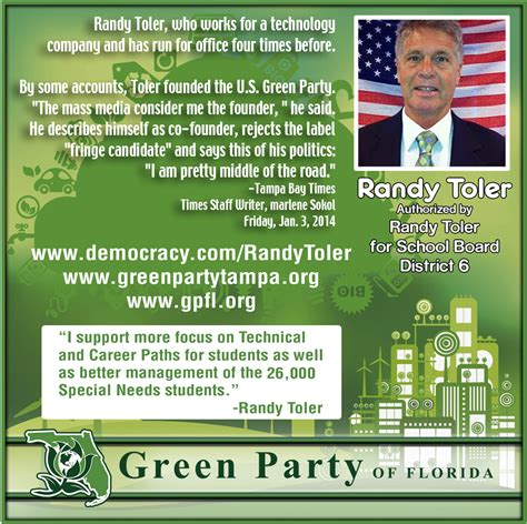 green party candidate school board archives green party florida
