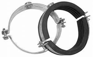 Collier De Fixation Tube Acier : collier lourd acier zingu avec isolation caout tube 159x168 ~ Melissatoandfro.com Idées de Décoration
