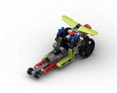 Moc Dragster Lego Rebrickable Build Followers Technic