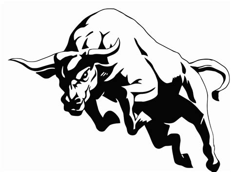 bull coloring pages getcoloringpagescom