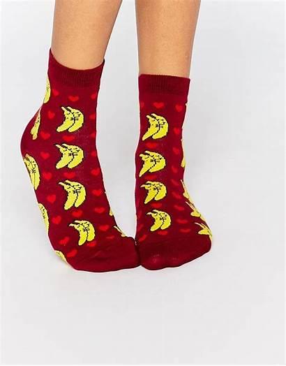 Asos Socks Ankle Spooning Banana