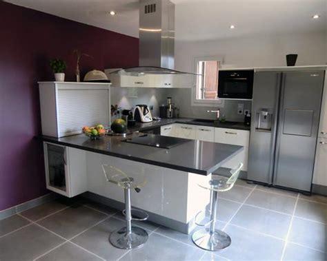 exemple de cuisine en u cuisine en u moderne cusine complete meubles rangement