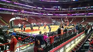 Interactive Seating Chart For United Center United Center Section 103 Chicago Bulls Rateyourseats Com