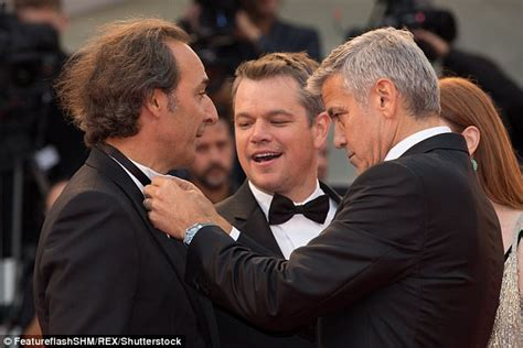 alexandre desplat fatherhood george clooney opens up about fatherhood in venice daily