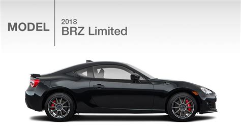 2018 Subaru Brz Limited  Model Review Youtube