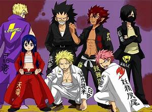 fairy tail dragon slayers | Fairy tail | Pinterest
