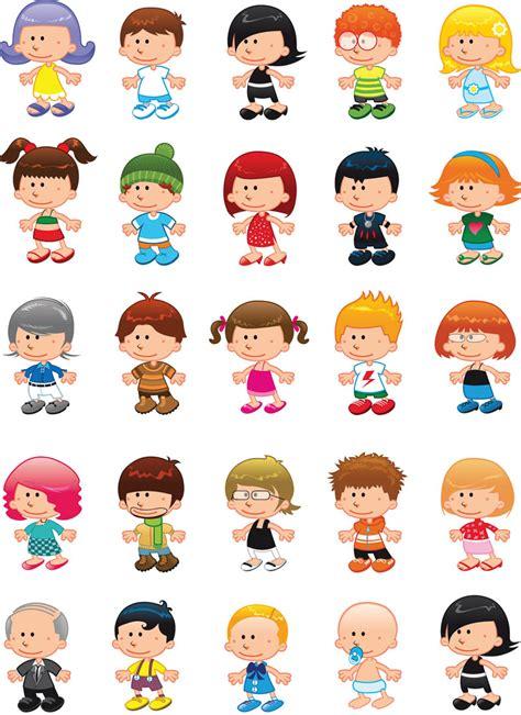 clipart vectors children figures vector vector graphics