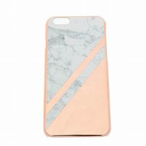Coque Rose Iphone 6 : coque iphone 6 6s marbre rose gold ~ Teatrodelosmanantiales.com Idées de Décoration