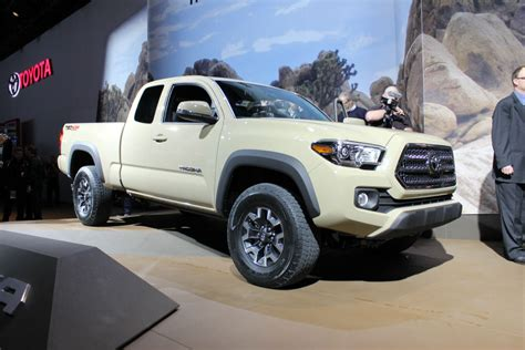 Toyota Tacoma Upgrades by 2016 Tacoma Gets Much Needed Upgrades