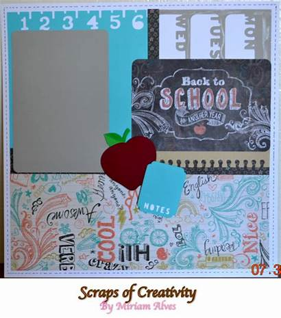 Scrapbook Paper Chalk Ctmh Packet Layouts