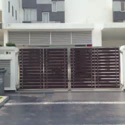 Stainless Steel Main Gates Design