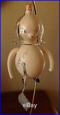 ret rare vintage radko astropup christmas ornament italian