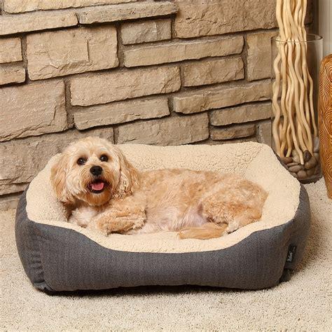 woolrich herringbone cuddler dog bed 28x23