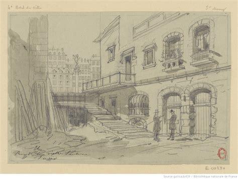 rue de la vieille lanterne 3e arrondissement dessin hc hubert clerget