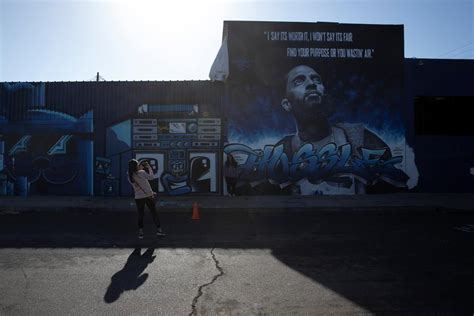 street art  nipsey hussle  la breathes life