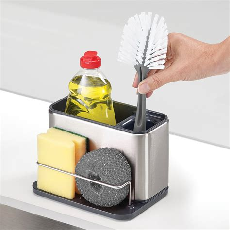 kitchen sink caddy organizer joseph joseph surface sink caddy 5673