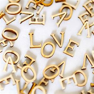 wooden 39love39 letters by artcuts notonthehighstreetcom With wooden love letters