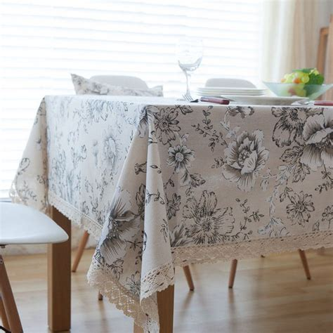 Tisch Mit Tischdecke by High Quality Peony Cotton Table Cloth China Style Table