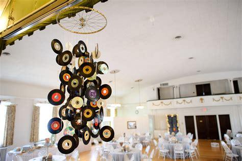 9 id 233 es de d 233 coration mariage avec le disque vinyle 171 martine se