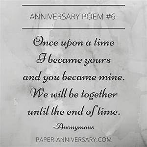10 EPIC Anniversary Poems for Him   Anniversary poems ...