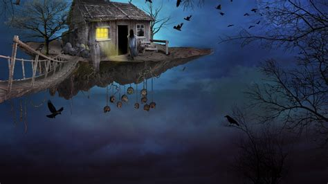 gothic fantasy house hd artist  wallpapers images