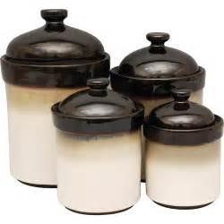 black ceramic canister sets kitchen sango 4 canister set black kitchen dining