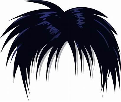 Hair Anime Clip Clipart Transparent Cartoon Boy