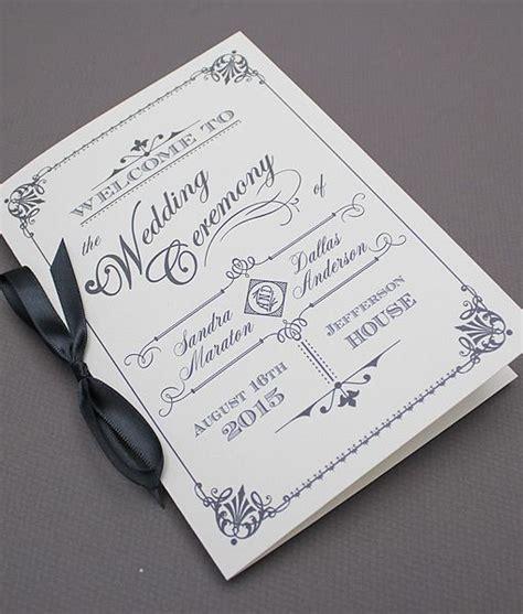pin by download print on diy wedding programs wedding