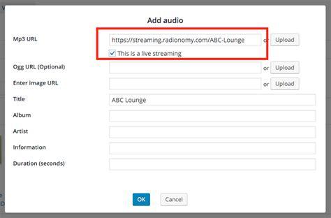 wonderplugin audio player plugin wordpress plugin page