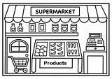 Supermarket Coloring Shopping Colorare Dibujo Disegni Colorear Educacion Preschool Proyectos Lectura Escritura Dibujos Disegno Coloringpagesfortoddlers Infantil Imagen Sobres Ludoteca Imprimir sketch template