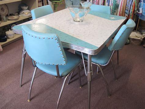 retro dining sets fabfindsblog