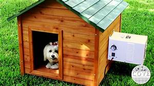 dog house air conditioner youtube With air conditioner for dog kennel