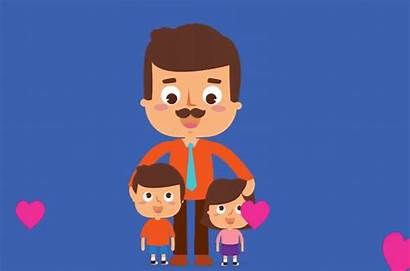 Fathers Father Animated Happy Gifs Wishes Funny