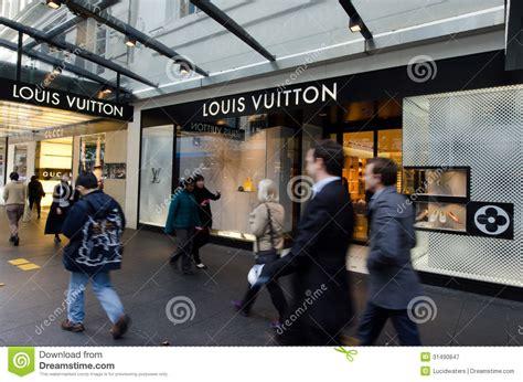 louis vuitton shop editorial photography image