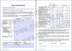 Mieter Schufa Auskunft : selbstauskunft des mieters mieterselbstauskunft ~ Orissabook.com Haus und Dekorationen