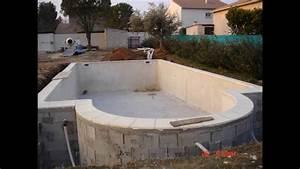 Beton Ciré Piscine : piscine b ton arm martinez piscine youtube ~ Melissatoandfro.com Idées de Décoration