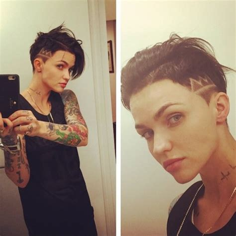 androgynous hairstyles tumblr