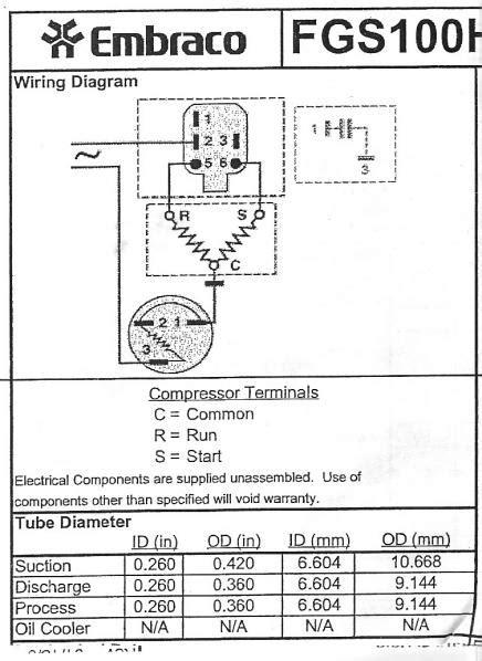 Wiring Refrigerator Compressor Doityourself