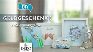 Diamantene Hochzeit Geschenk Selbstgemacht : diy geldgeschenke h bsch verpacken how to deko kitchen youtube ~ Frokenaadalensverden.com Haus und Dekorationen