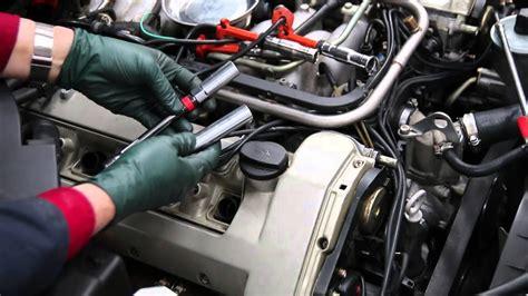 mercedes m119 v8 engine inspection part 6 spark