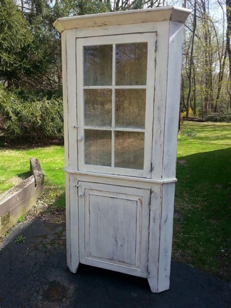 unfinished furniture hutch antique reclaimed barn wood corner hutch cabinet