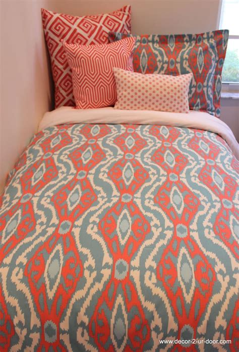 60 Best Coral And Teal Bedding Images On Pinterest