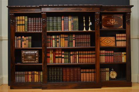 William Iv Rosewood Bookcase  Antiques Atlas