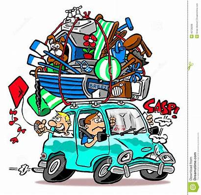 Holiday Going Clipart Roof Background Loaded Vacation