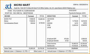 11 payslip template malaysia simple salary slip With malaysia payslip template