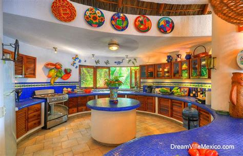 mexican style kitchen design colorful kitchen items 7483